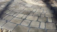belgard cambridge cobble walkway brick pavers