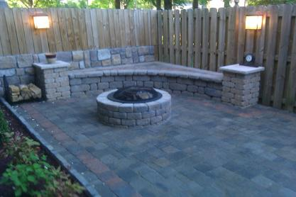 outdoor living spaces hardscape belgard